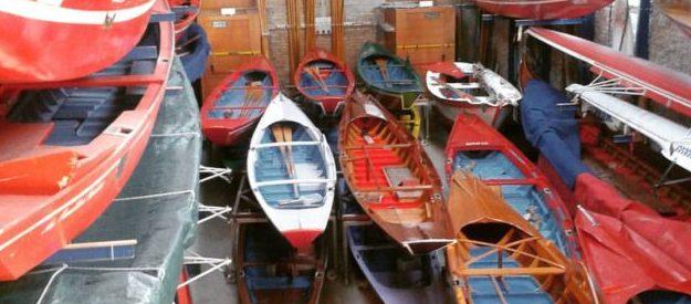Manutenzione imbarcazioni da canottaggio