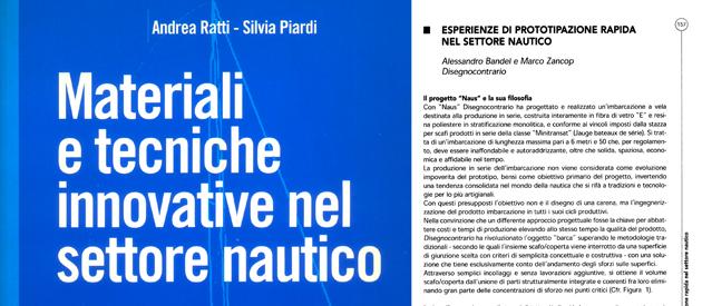 "MiniTransat Naus 6.50: workshop ""Materiali e Tecniche Innovative nel settore Nautico"""